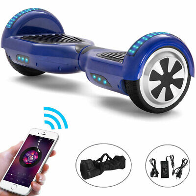 Hoverboard 6.5 Inch Self-balancing Scooter Bluetooth Electric Scooters LED+Bag • 119£