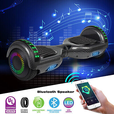 6.5  Self Balancing Hoverboard Electric Scooter With Bluetooth Speaker LED Wheel • 139.99£