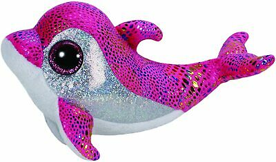 Ty Beanie Boo Boos 36216 Sparkles The Pink Dolphin Regular • 10.99£