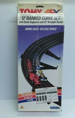 1980s AURORA TOMY AFX TRACK 12  BANKED CURVE SET 8667 (MINT BOXED) 1:87 Scale HO • 24.99£