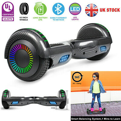 6.5  Self-Balancing Scooter Hoverboard Electric Scooter Bluetooth Balance Board • 139.99£