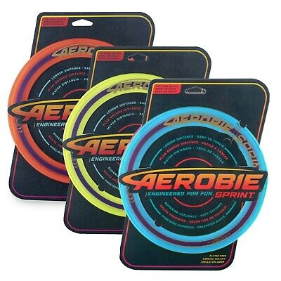 Aerobie Sprint Flying Disk 10  Frisbee Distance Series New • 12.49£