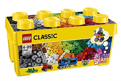 LEGO 10696 Classic Medium Creative Brick Box, Easy Toy Storage, Lego Masters Fan • 23.09£