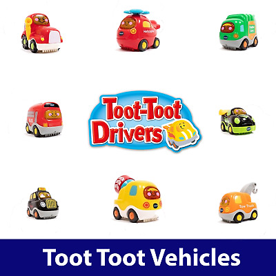 VTech Toot Toot Drivers - Wide Range - Pick Your Vehicle - Cars Planes Trucks • 5.85£