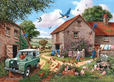 Big 500 Piece DeLuxe Jigsaw Puzzle (Farmers Wife ) Ideal Gift  • 17.59£