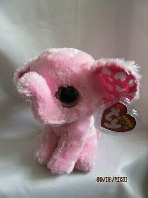 Ty Beanie Baby Boos - Sugar - The Pink Elephant  372096 - Mint Condition • 9.99£