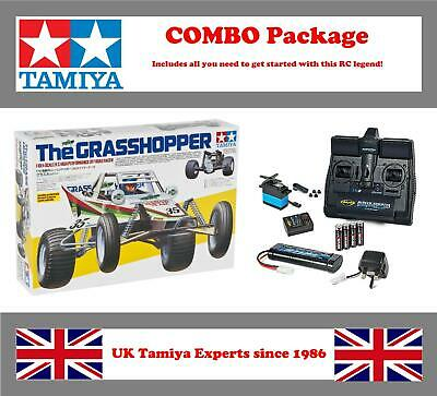 Tamiya The Grasshopper #58346 RC Kit - COMBO Package • 149.95£