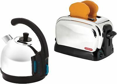 Casdon BREVILLE CLASSIC TOY BREAKFAST SET Kettle Toaster Role Play Toy BN • 14.79£