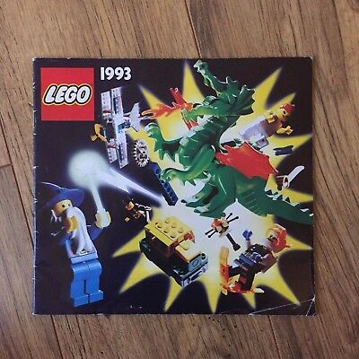1993 Lego Catalogue - Collectors Vintage • 6.99£