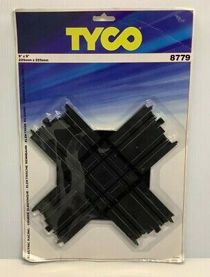 1989 TYCO COLLISION CROSSING CROSSOVER TRACK 8779 (BOXED'ish) 1:87 Scale HO • 16.99£