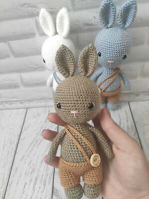 Bunny, Handmade, Toy, Gifts For Boys, For Baby Boy • 17.99£