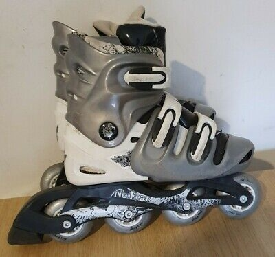 No Fear Roller Blades Skates. Children's/Juniors Size: 5-8. Very Good Condition. • 25.99£