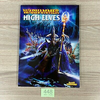 Games Workshop Warhammer Armies High Elves Army Book 2001 6th Edition  • 19.95£