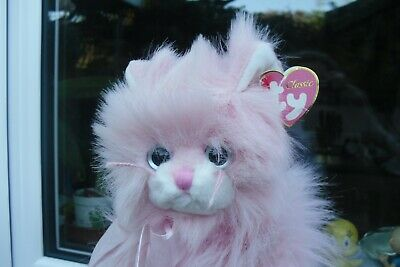 LOVELY TY  Classic Pink Cat     Jeweled    With Tags, Rare Cat.2007 • 28£