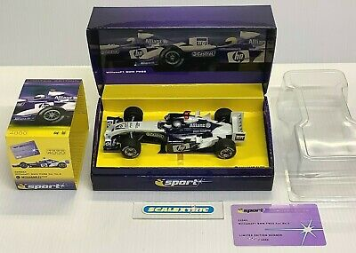 SCALEXTRIC C2583A BMW WILLIAMS F1 FW26 #3 Juan Pablo Montoya (BNIB) LTD ED  • 19£