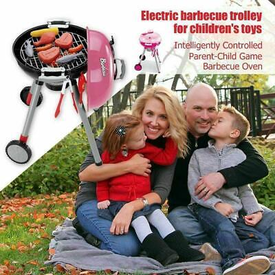 Kids Barbecue Toy Pretend BBQ Play Kitchen Set Toy Perfect Christmas Gift • 16.99£