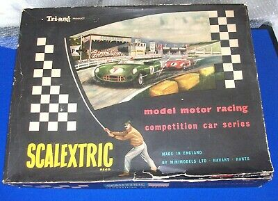 Triang Scalextric Set CM1 Lister Jaguar  Box Only , 1960  • 15£