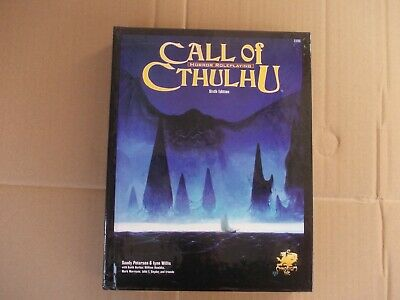 Fantasy Roll Playing Book Game Call Of Cthulhu • 9.99£