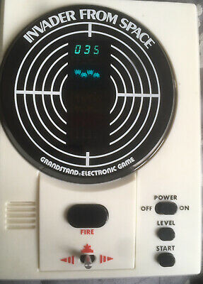 Grandstand Invader From Space Hand Held Electronic Game Boxed 1980. • 11.61£