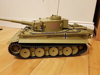 Tamiya 1/16 Rc German Tiger I Early Production Complete • 102£