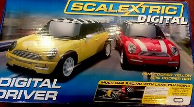 Scalextric Extended Digital Minis. Driver Set In Good Used Condition • 60£