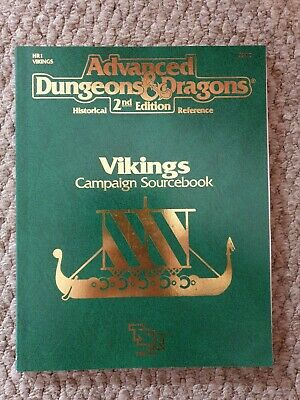 Vikings Campaign Sourcebook For Advanced Dungeons And Dragons, 2nd Edition.  • 4.99£
