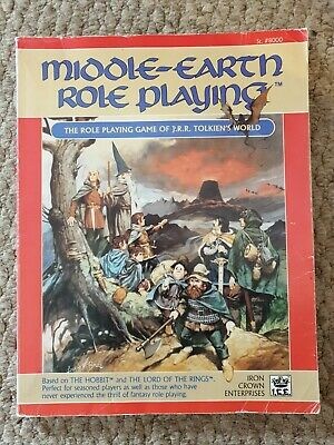 Middle Earth Role Playing. The RPG Of Tolkiens World. Iron Crown Enterprises.  • 4.99£