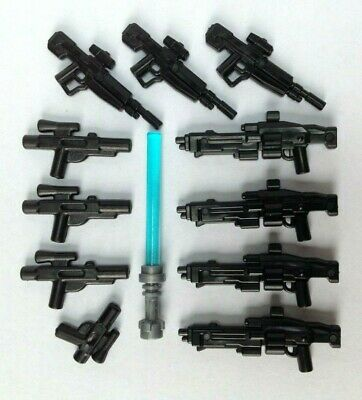 Star Wars Various Guns 12PC Black Compatible With Lego • 3.50£
