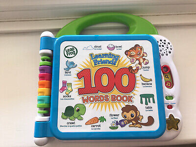 LeapFrog Learning Friends 100 Words Book • 7.50£