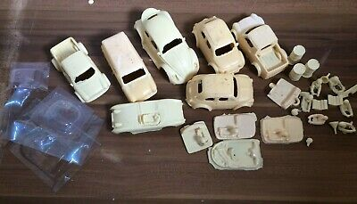 Scalextric 1/32 Scale Resin Joblot Scrapyard, Mini Van Pickup Fiat Vw Austin • 10£