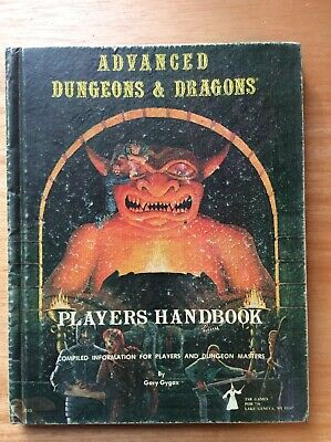 Dungeons And Dragons Advanced Players Handbook 1978 TSR Games • 25£