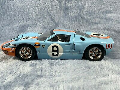 Scalextric C2403A Ford GT40 Gulf No 9 Unboxed • 19.99£