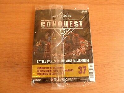 New/sealed Warhammer 40k Conquest Magazine Issue 37       • 6.99£
