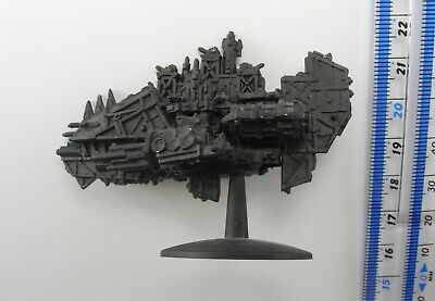 ORK KILL KROOZER Metal Battlefleet Gothic BFG Space Orks Battle Fleet QE1 • 19.99£