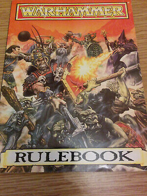 WARHAMMER RULEBOOK - 4th EDITION 1992 • 1.24£