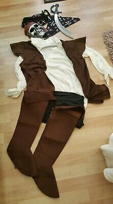 Costume For Adults Male Pirate- ONE SIZE FITS ALL • 8£