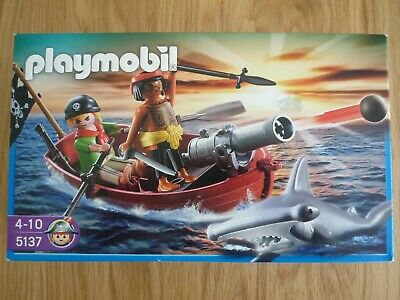 Playmobil 5137 Pirates Rowboat Brand New In Box • 23.50£