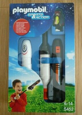 Playmobil 5452 Sports & Action Rocket Launcher (Brand New In Box) • 23.50£