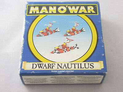 Warhammer Man O' War Dwarf Nautilus Retired  • 25£