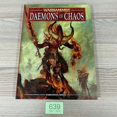 Games Workshop Warhammer Armies 8th Edition Army Book Daemons Of Chaos • 34.95£