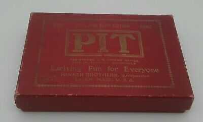Vintage PIT Card Game - Bull And Bear Edition - Parker Brothers USA Edition • 9.95£