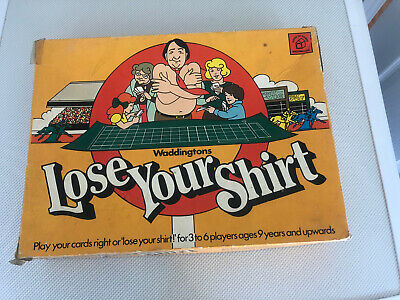 Lose Your Shirt Vintage Board Game By Waddingtons. Complete From Smoke Free Home • 3.99£