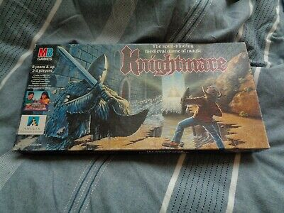 Knightmare, Rare MB Board Game From 1991 (incomplete With Missing Pieces) • 20£