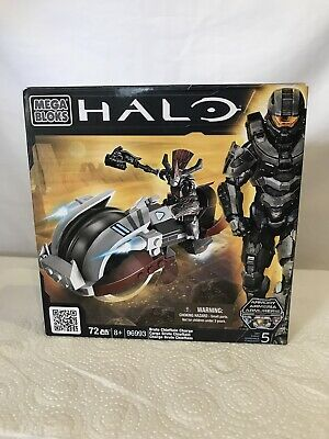 Mega Bloks 96993 Halo Brute Chieftain Charge Figure & Vehicle • 10.99£