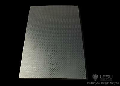 UK Stock Tool Stainless Steel Plate B Metal For LESU 1/14 RC Tractor Truck Car • 18.99£