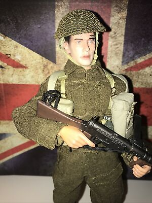 Dragon Action Man British Soldier Somerset Lt Infantry Corporal France Ww2  1/6 • 75£