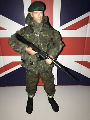 Dragon Action Man British Royal Marine Commando Falklands War 1/6 • 65£