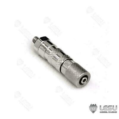 UK Stock LESU 1/14 Metal Tubing Connector A For RC TAMIYA Truck Hydraulic System • 22.99£