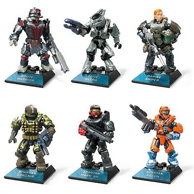 Mega Construx Halo Infinite Heroes Micro Action Figures (Pick From 6 Characters) • 10.99£