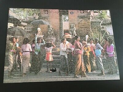 Victory  Gold Box  Plywood Jigsaw Puzzle -  People Of Bali (Outdoor) - 600 Piece • 4.50£